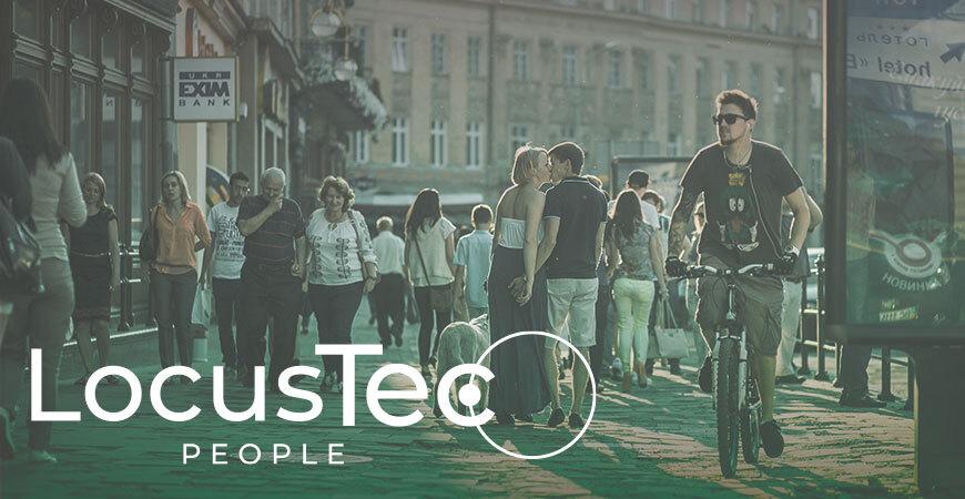 Localización personas en tiempo real. Locustec people