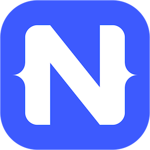 NativeScript logo - flutter